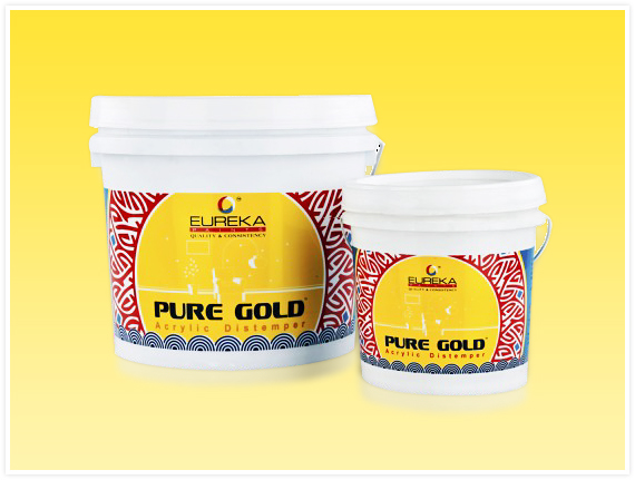 Pure Gold Acrylic Base Distemper Manufacturers Mumbai, India